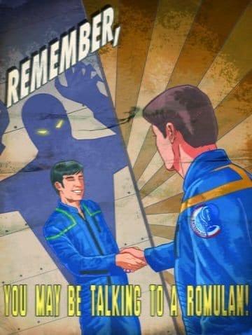 Romulan Propaganda Poster