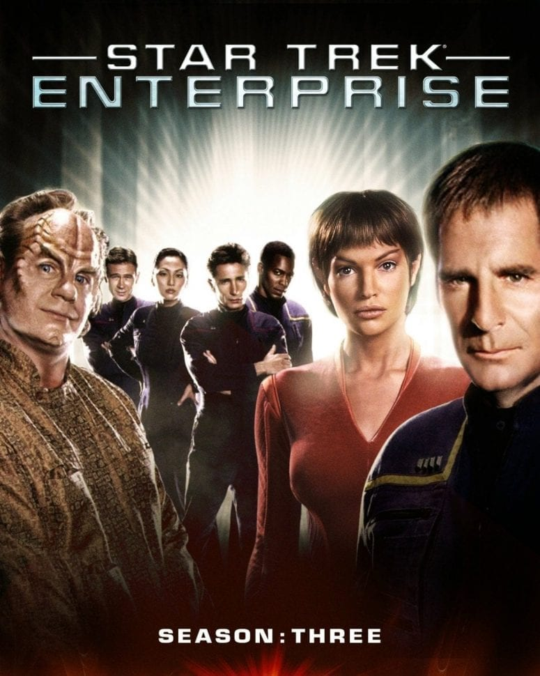 Star Trek Enterprise Season 3 Blu-ray