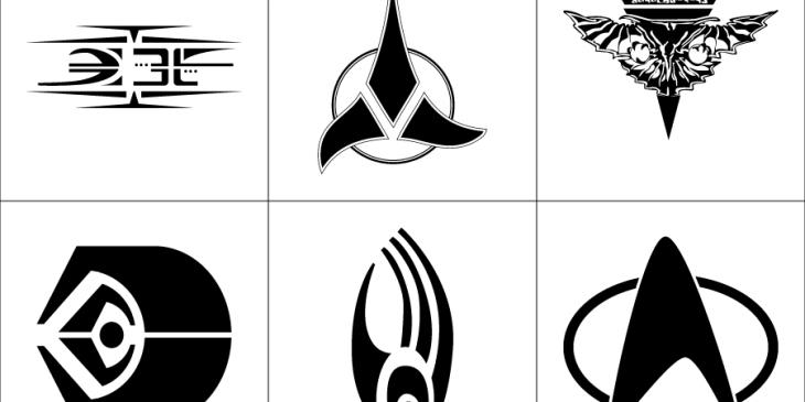 Star Trek Symbols Vector Graphics