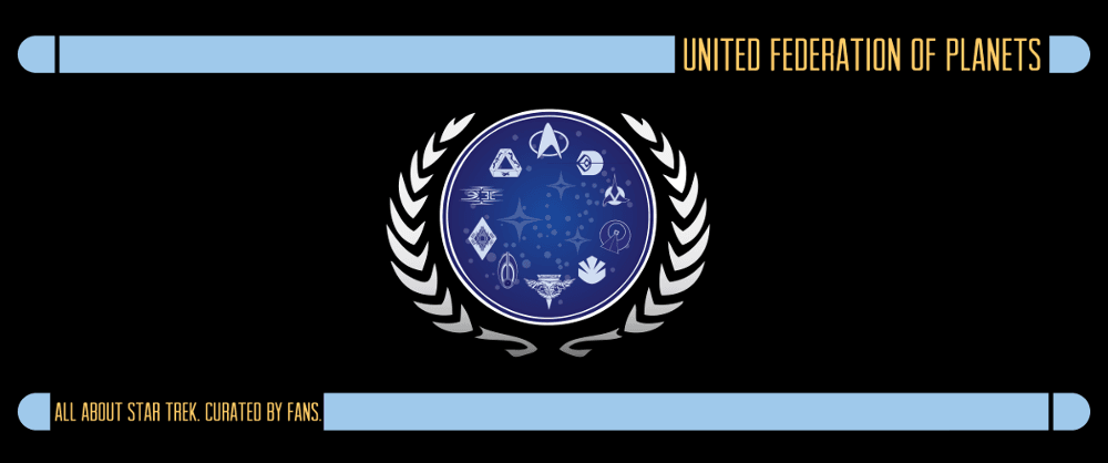 United Federation of Planets Header and Badge