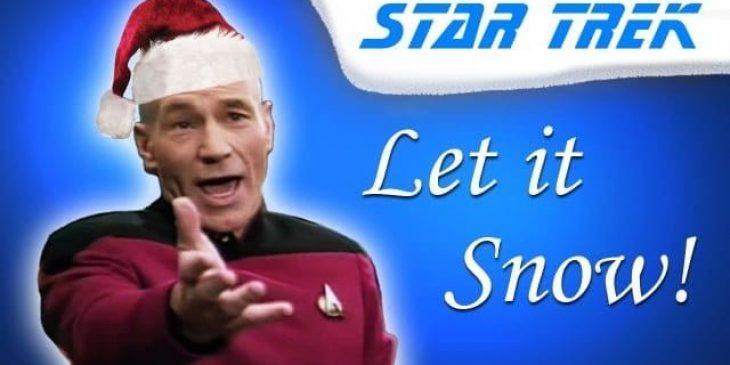 """Captain Jean-Luc Picard Sings """"Let It Snow"""""""